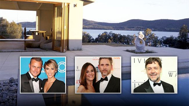 A number of celebrities — from Lleyton and Bec Hewitt, to Eric and Rebecca Bana — have stayed at this mid-north coast hideaway, which is now up for sale. 'Villa Lago' is a luxury Coomba Bay residence and long-time getaway destination for some of Australia's most notable names. #holidayhouse #getaway