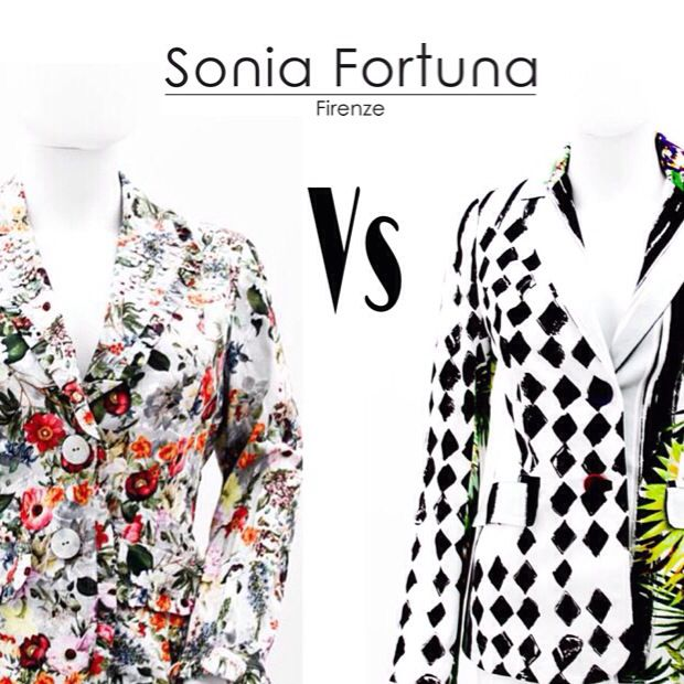 Two different Jackets of Sonia Fortuna Spring Summer 2014 Collection Which do you prefer?