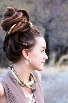 30 Daring & Creative Hairstyles With Dreadlocks For Women