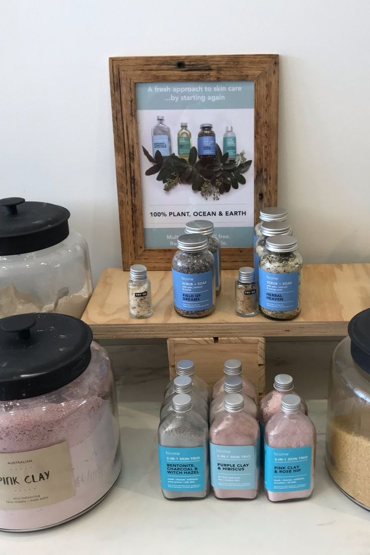 Diy skincare natural ingredients in bulk biome clays