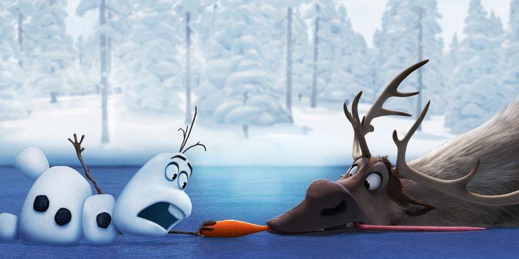 Die Eiskönigin – Völlig unverfroren Hirsche Schneemänner Animationsfilm