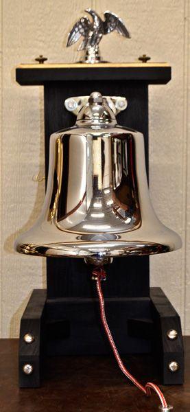 """Presentation Fire Memorial Bell. 12"""" Bell off ofa truck $1,300"""