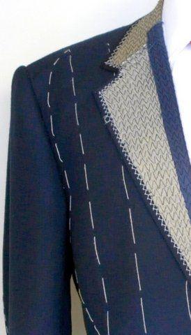 Bespoke Tailoring - Padstitching