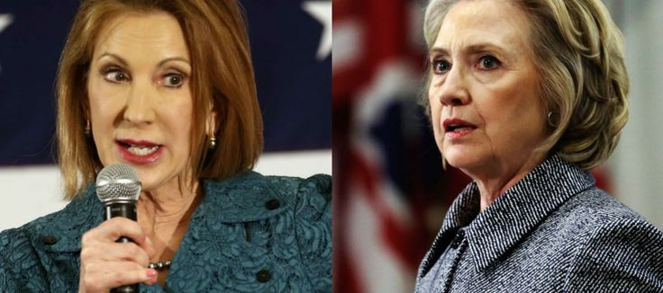 """More Hypocrisy of Carly Fiorina Unmasked in Audio & Video: """"Hillary Clinton was a Great Candidate"""" - DCClothesline"""