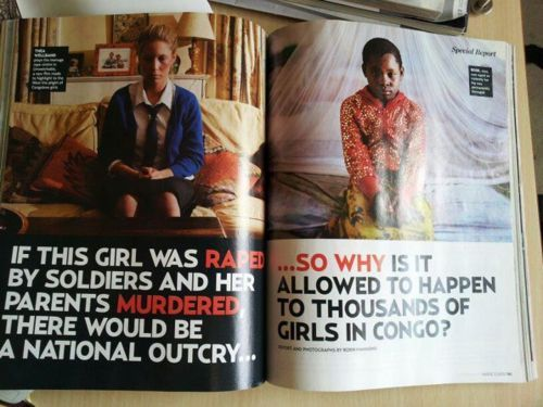 """""""feminism for the whole world. we can't forget our sisters who are still fighting for the most basic of all rights."""""""