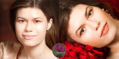 Gesicht konturieren Foto Make up Stephanie und Wieland von Westernhagen,konturieren und highlighten,Foto Make up.
