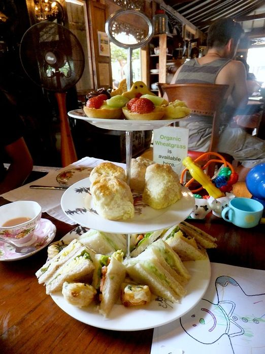 High tea: Biku offers breakfast and dinner, and everything in between, including a famous high tea. (Photo courtesy of l... http://www.jakpost.travel/news/favorite-family-restaurants-in-bali-by-food-bloggers-YkJGCqevWtXPzdS8.html