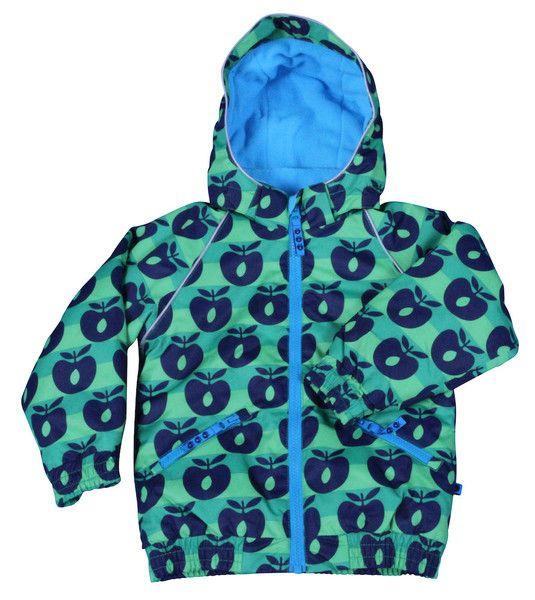 Smafolk Green Apple Striped Winter Coat – Juicytots