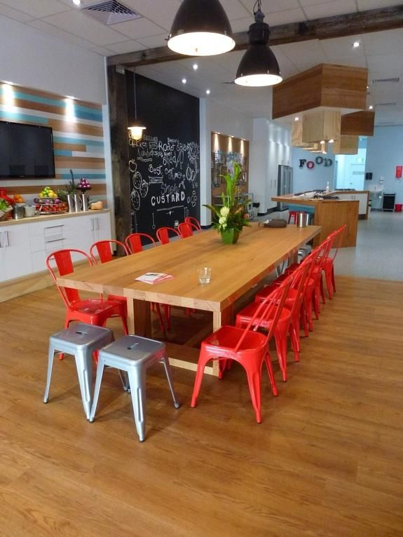 """Timberzoo's recycled timber featured in """"Jamies Ministry of Food"""" located in central Geelong. #timberzoo"""