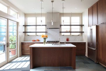 modern kitchen by McElroy Architecture, AIA