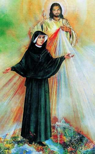 "St. Faustina Kowalska! author of ""Divine Mercy in My Soul!"" Sister Faustina's messages from Jesus' are for all denominations."