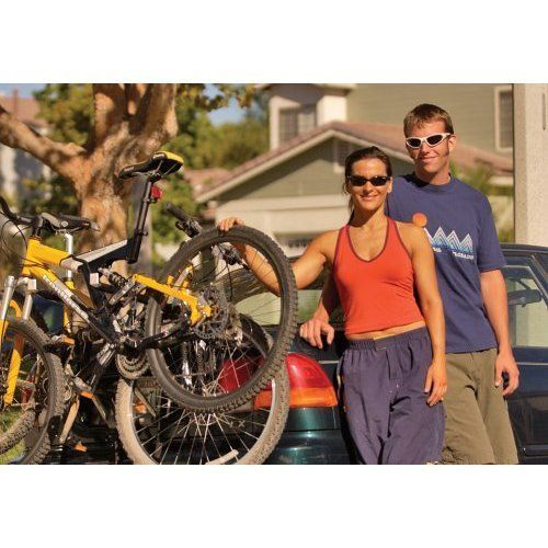 2 Bike Bicycle Trunk Mount Rack Sturdy Carrying System For Cars Black Carrier  #Kbrand