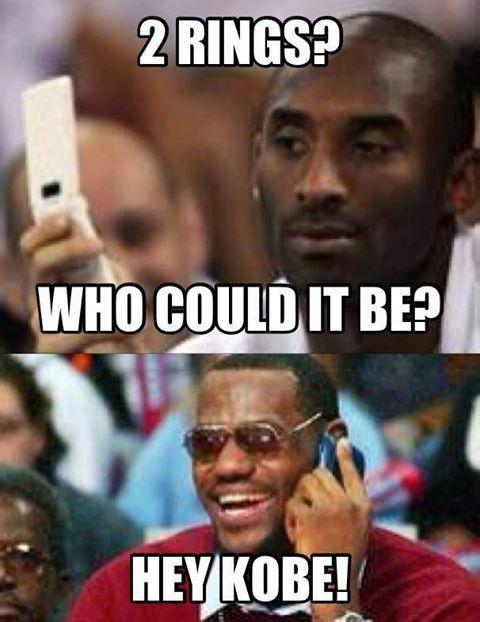 Kobe Bryant And Lebron James Ring NBA Mmeme - http://hoopsternation.com/meme/kobe-bryant-and-lebron-james-ring-nba-mmeme