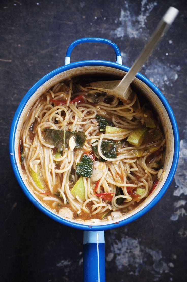 Det gröna skafferiet - Enkel & grön pastarätt