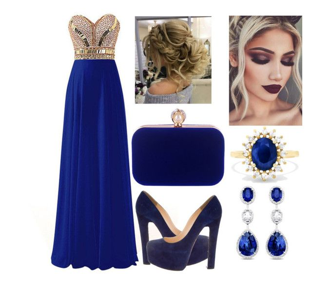 """""""weding guest outfits"""" by diana-suvorova-18 on Polyvore featuring Christian Louboutin, WithChic and Effy Jewelry"""