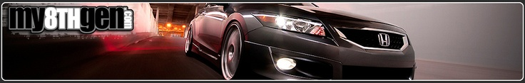 Honda Accords - 8th generation - 2008 to 2012. check us out