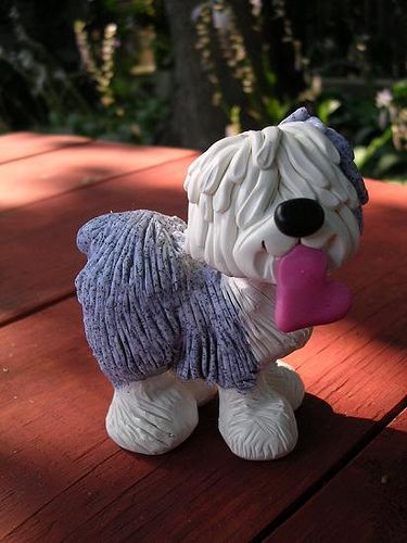 sheepie by clay keepsakes via Flickr - Photo Sharing!