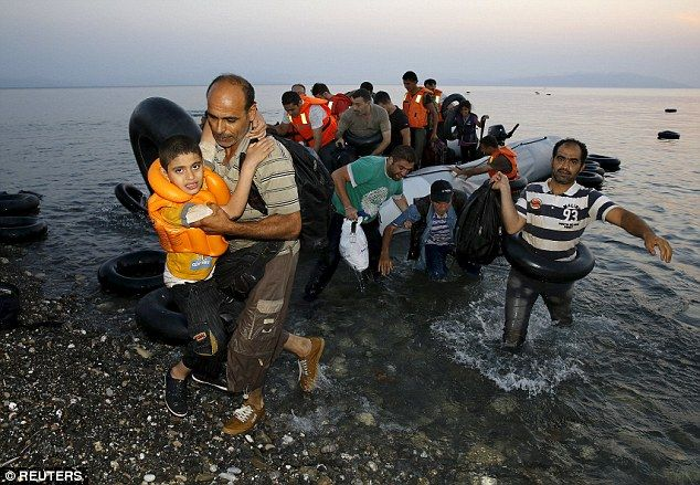 Ministers buckled to a public outcry to take in refugees following the increasing number of Syrian people making the perilous journey across the Mediterranean last year