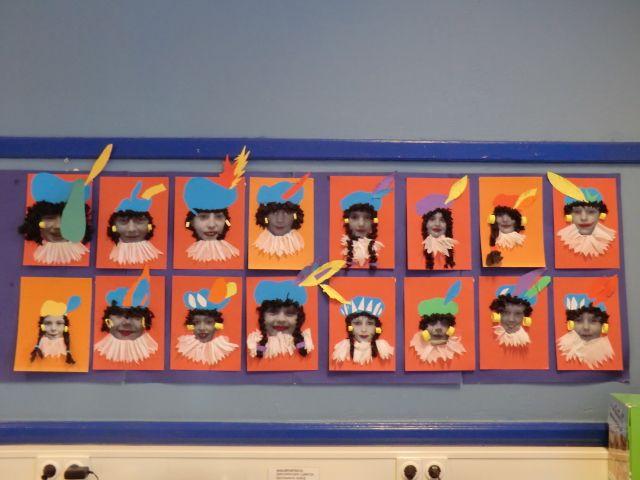 Sinterklaas. Eigen foto versieren tot Zwarte Piet