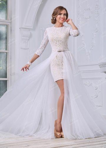 MC076Свадебное платье с рукавом, свадебное платье с открытой спиной
