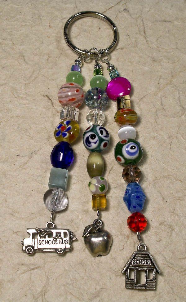Keychain: Beaded Keychain, Cute Keychain, Key Dangles, Craft Ideas, Key Rings, Key Fobs, Crafty Ideas