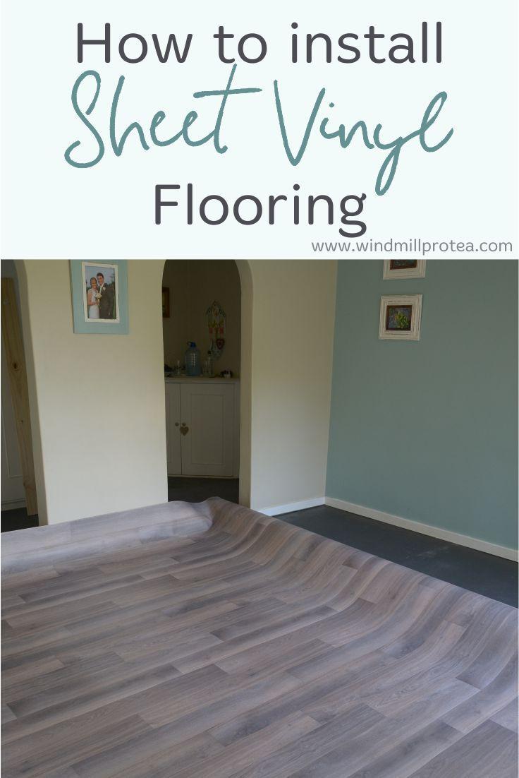 How To Install Sheet Vinyl Flooring Diy Flooring Cheap Vinyl Flooring Kitchen Cheap Vinyl Flooring