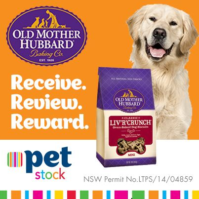 These delicious Old Mother Hubbard treats received some great reviews from our Facebook fans and their Buddies! Read the reviews here!