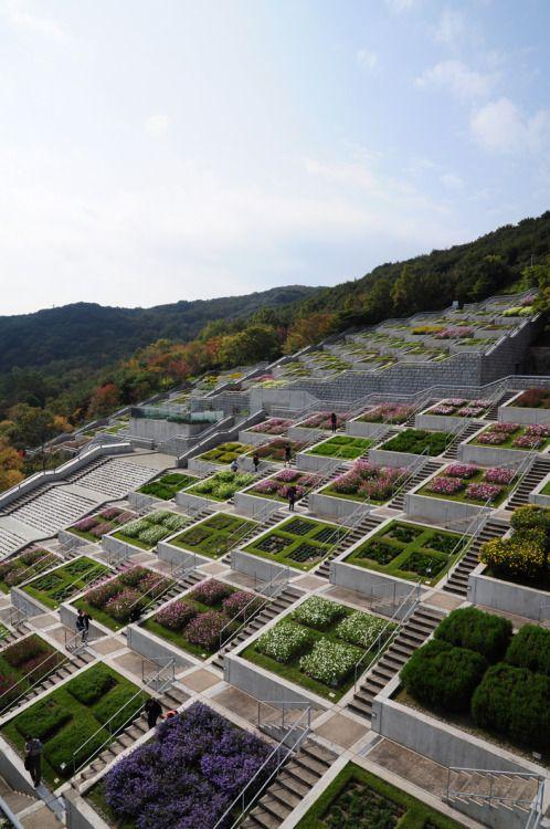Awaji Yumebutai, Tadao Ando Architect, Awaji Island, Japan  The Awaji Yumebutai is a conference center, hotel and memorial in Awaji, Hyōgo built in the wake of the 1995 Great Hanshin earthquake. It was designed by Tadao Ando Wikipedia