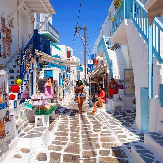 MYKONOS. Like if you can't wait for summer in Greece 2017!
