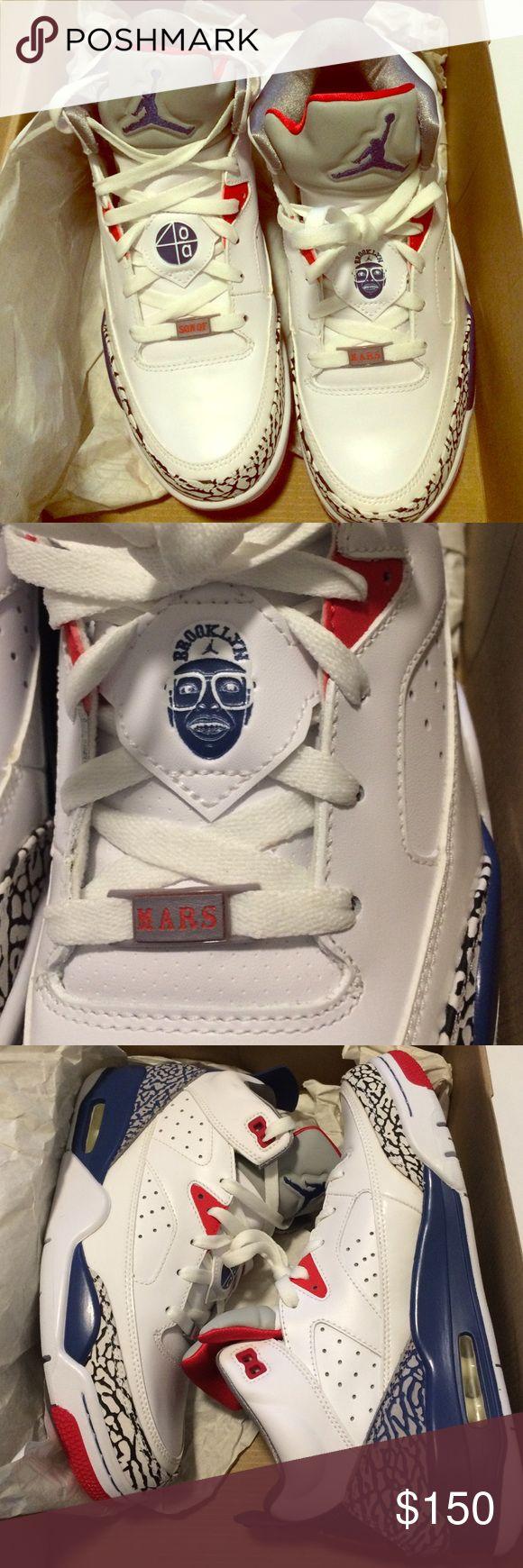 Jordan son of low sneakers mars spizike spike lee Men's size 8.5 new with  box Nike