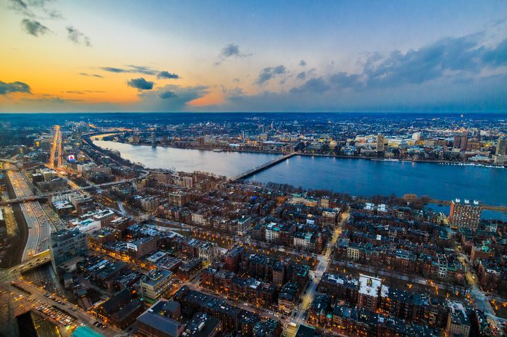 Boston from the top