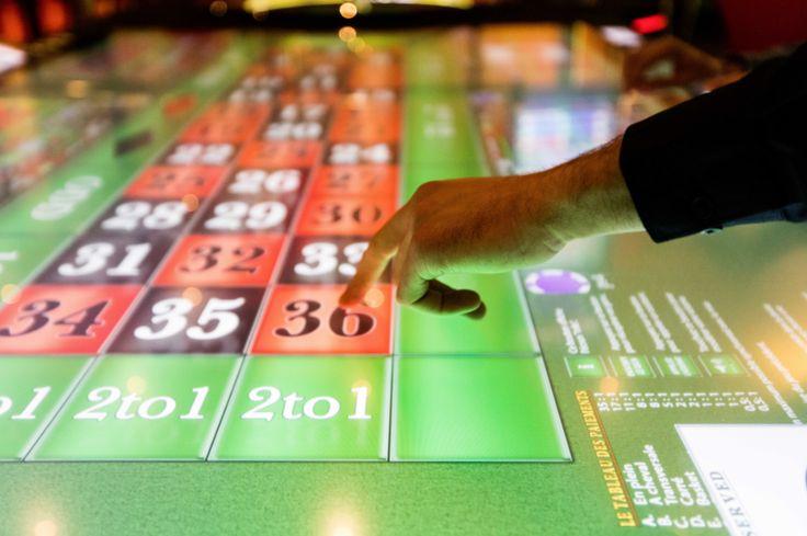 Roulette anglais automatique - Casino Barrière Menton