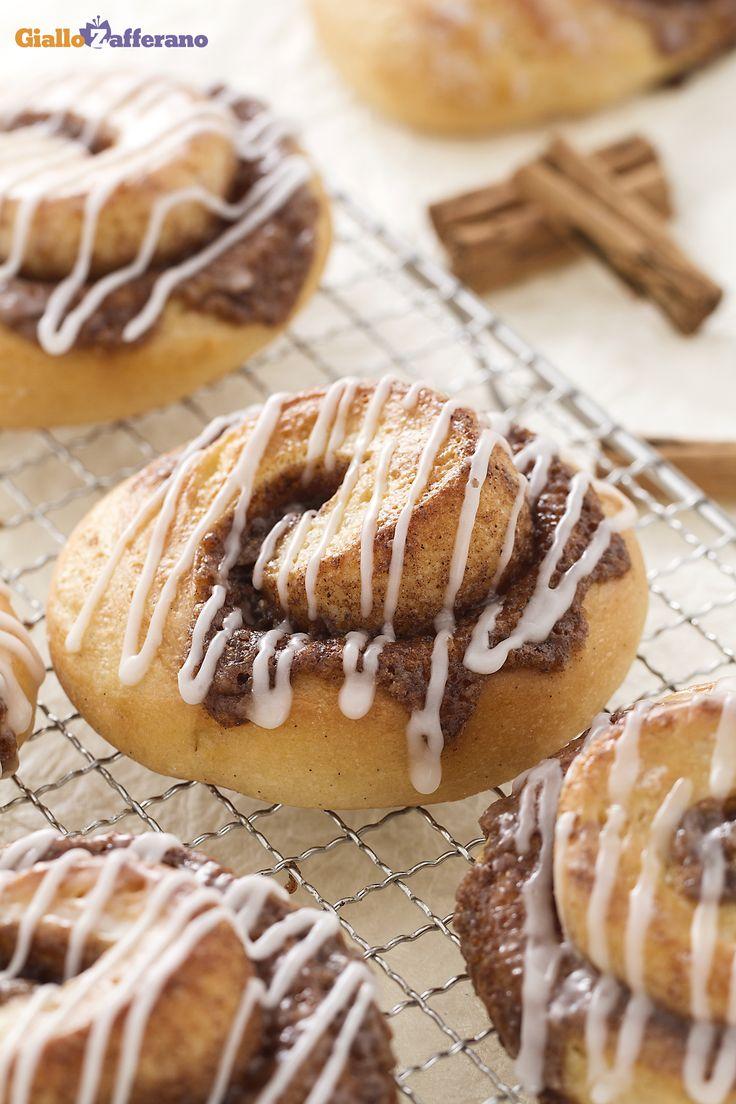 I cinnamon rolls sono soffici coccole da offrire ai vostri amici per il #Thanksgivingday! #thanksgiving http://speciali.giallozafferano.it/buon-appetito-america