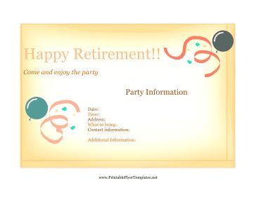 retirement flyer ideas elita aisushi co