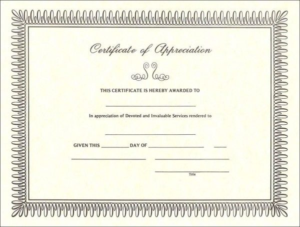 25 unique certificate of appreciation ideas on pinterest free certificate of appreciation sample customizing the sample certificate of appreciation yadclub Image collections
