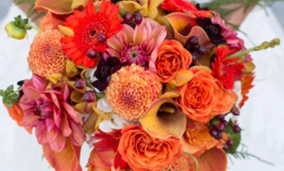 Il bouquet della sposa d'autunno, i fiori e i colori! | Chi veste ...