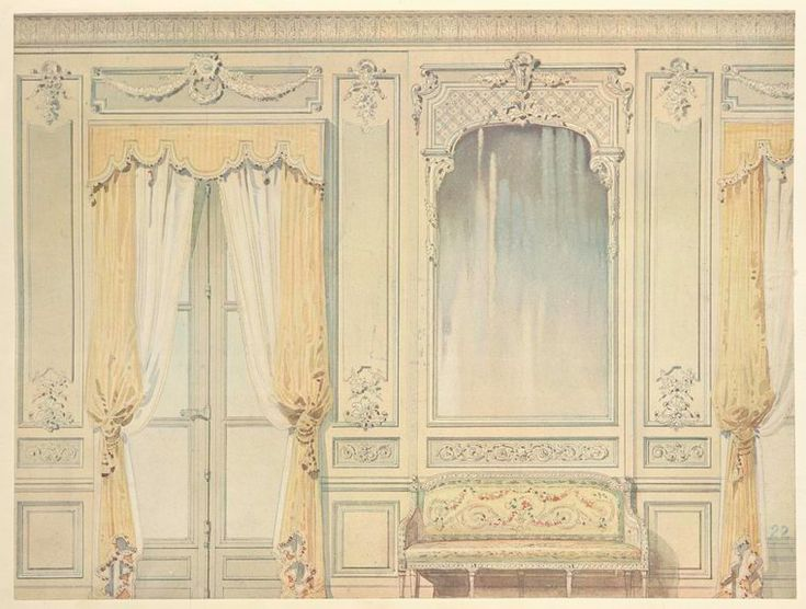 Interieurs de style--XVIIe & XVIIIe siecles--di...