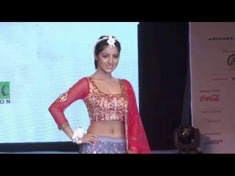 Deepika Singh aka Sandhya walks the ramp for SMILE FOUNDATION NGO.