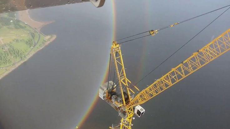 Увидеть круглую радугу с небоскреба / Full circle Rainbow