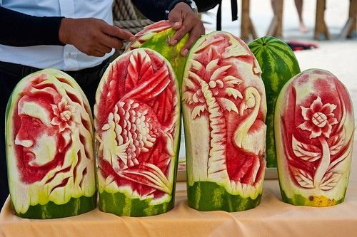 Water Mellon Art.
