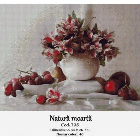 Goblen set de vanzare Natura moarta http://set-goblen.ro/flori/3967-natura-moarta.html