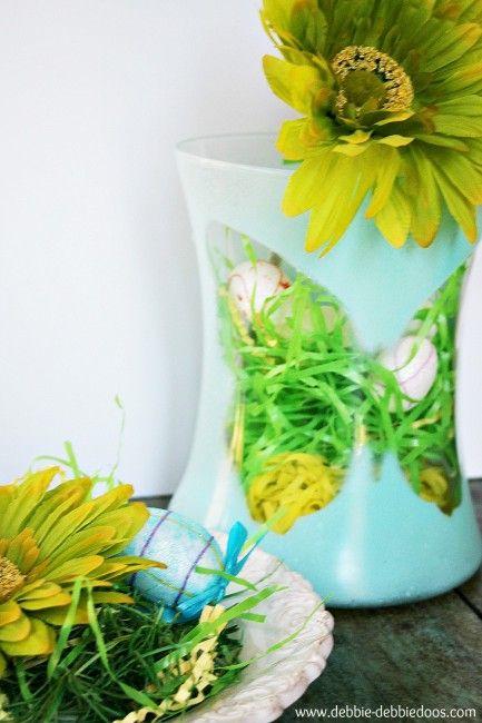 Dollar tree Butterfly silhouette vase - Debbiedoo's
