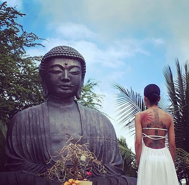 Jhene Aiko - Buddha - Tattoo