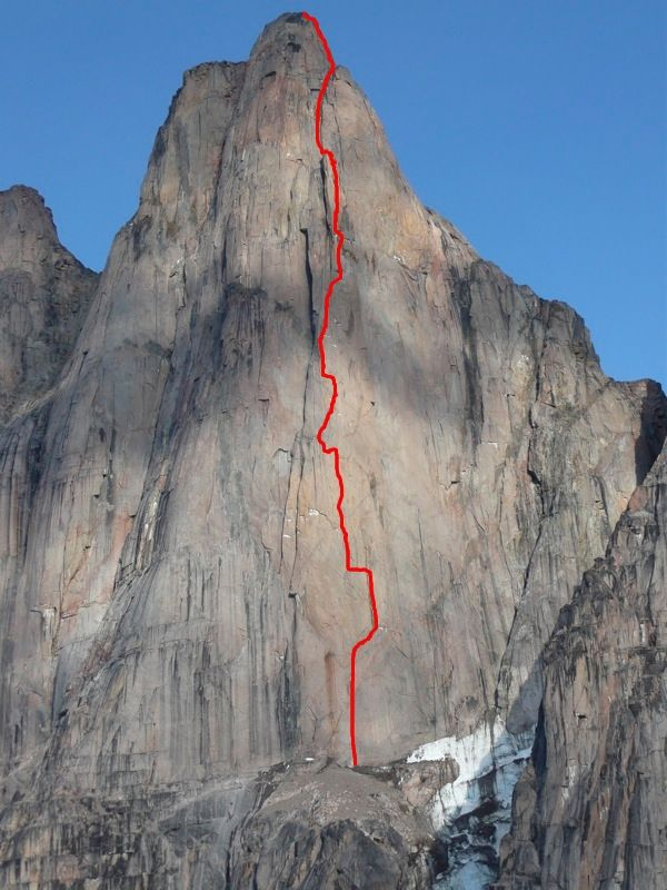 Big Wall Pictures Part - 24: Big Wall Free Climbing In Baffin Island / English. Climbing / Mountain