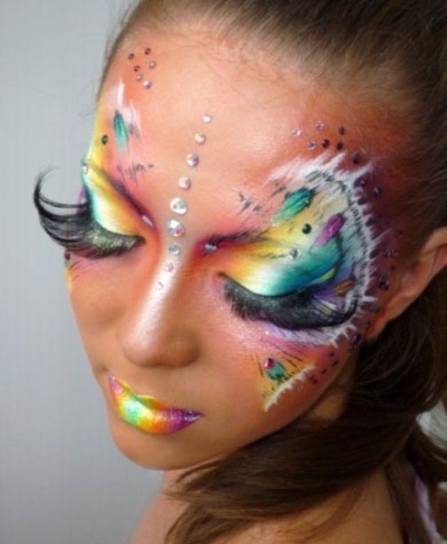 141 best Halloween costumes / makeup images on Pinterest | Fantasy ...
