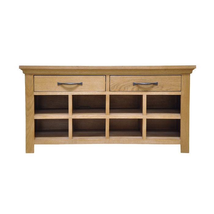 Hazelwood Home Wood Storage Hallway Bench & Reviews | Wayfair.co.uk