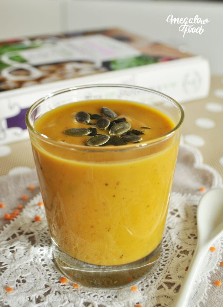 Soupe butternut/lentilles corail