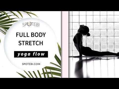 Day 1: Full Body Stretch | Yoga Essential Flow - YouTube