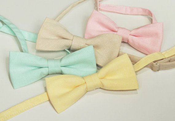 Florent  Cotton Bow Tie Available in Many by bowtieandcotton, $22.00
