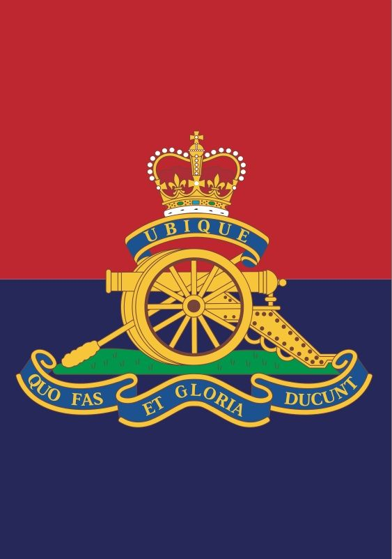 The Royal Regiment of Artillery, commonly referred to as the Royal Artillery, is the artillery arm of the British Army. The introduction of artillery into the English army came as early as the Battle of Crécy in 1346.